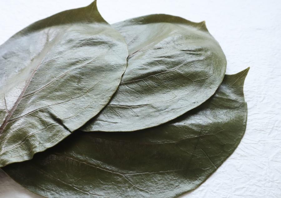 柿の葉(一枚洗い) イメージ
