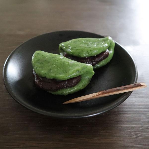 草餅(よもぎ生葉、白玉粉)