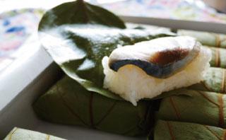 柿の葉寿司のイメージ